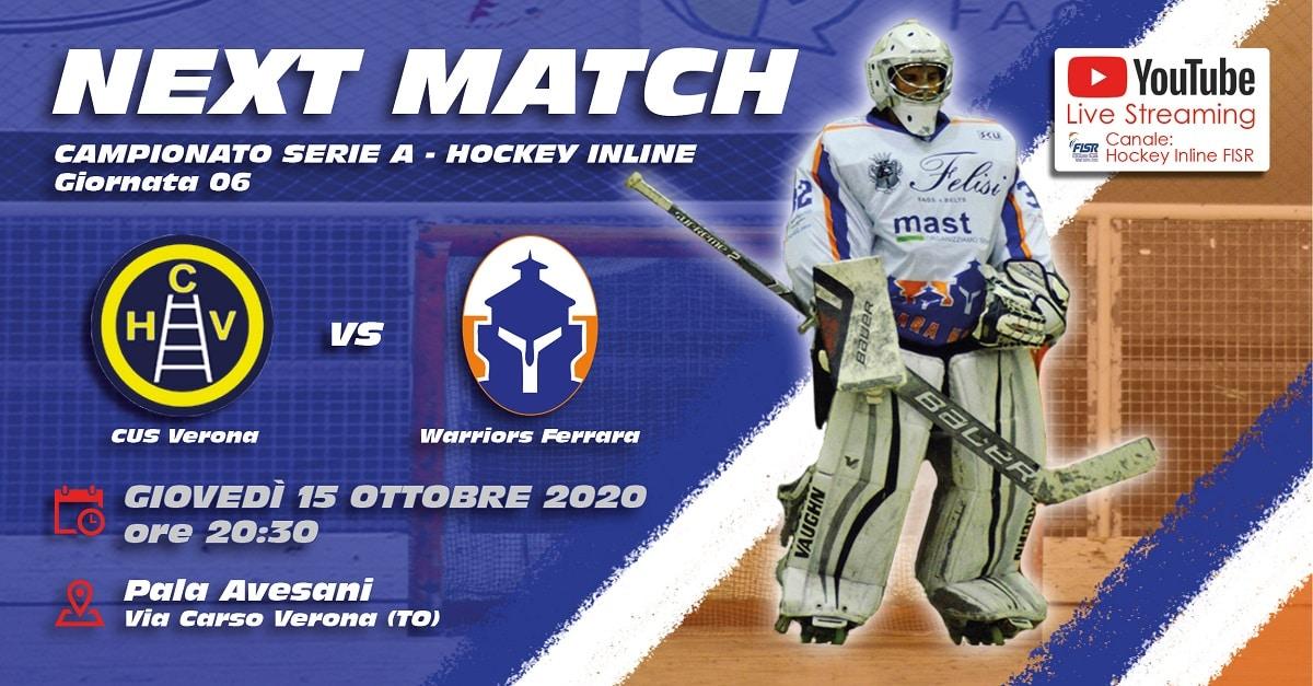 Serie A: CUS Verona - Warriors Ferrara - Giornata 06/22 @ Pala Avesani via Carso Verona | Verona | Veneto | Italia